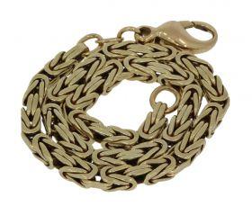 14 karaats gouden Byzantijnse koningsschakel armband