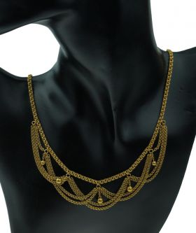 Antieke 18 karaats gouden choker ca. 1900