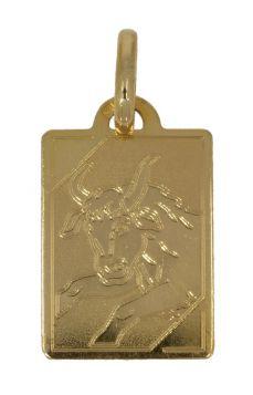 18 karaats gouden Zodiac hanger Stier