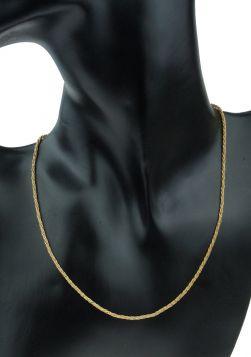 18 karaats gouden dames koordschakel collier