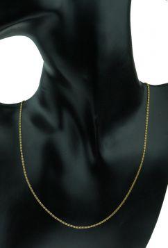 14 karaats gouden dames ketting met meander motief schakel