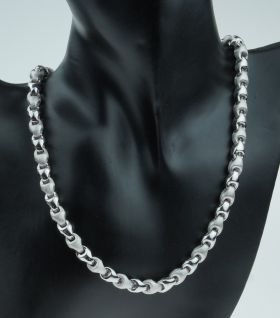 Exclusief 18 karaats witgouden dames design collier