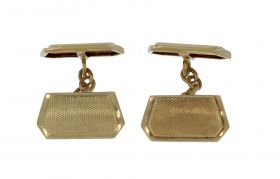14 karaats gouden Vintage set manchetknopen