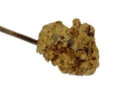 Antieke gouden dasspeld met Nugget