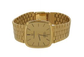 18 karaats gouden Omega Constellation heren horloge automatic