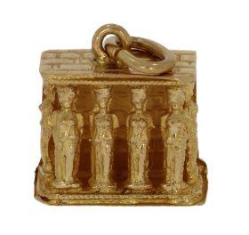 18 karaats gouden Pantheon ketting hanger