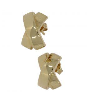14 karaats gouden fantasie oorstekers
