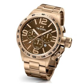 TW Steel CB193 Rosegouden horloge