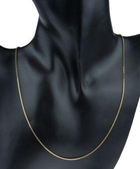 14 karaats gouden Venetiaanse schakel ketting lengte 43cm