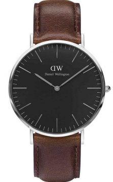 Daniel Wellington 00100131DW Classic Black Bristol horloge