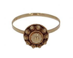 Antieke 14 karaats gouden Zeeuwse knoop ring